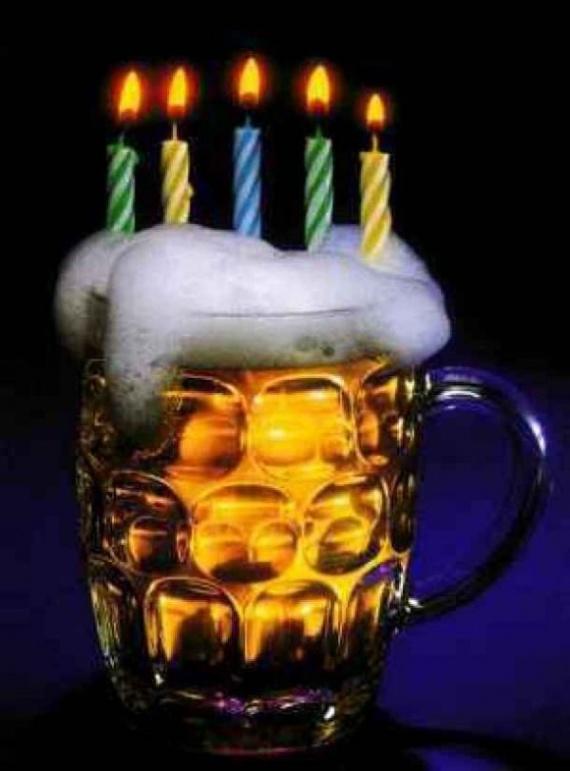 Поздравления друга с днем рождения прикольные алкоголь